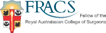 Fellow of Royal Australasian College of Surgeons